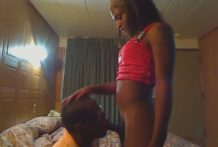 Unbelievably Sexy Black Hung Teen Shemale – Netshadow