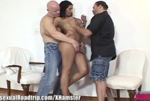 Sexy Latina Shemale Ass Fucking Threesome