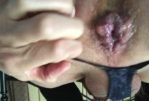 Pussy fun with NJoy Aug 2017